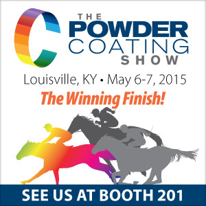 IntelliFinishing will be at The Powder Coating Show 2015 - See Us at Booth 201