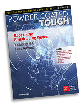 Powder Coated Tough Magazine Cover March/April 2018