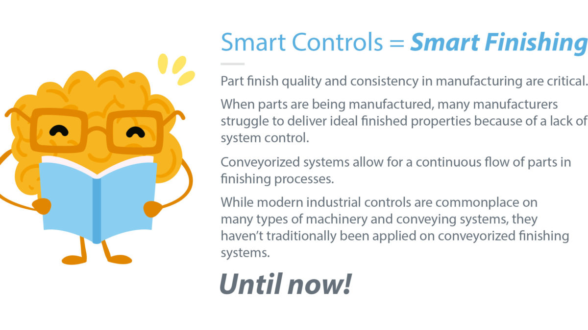 For Finishing Systems, Smart Controls Are A Smart Idea