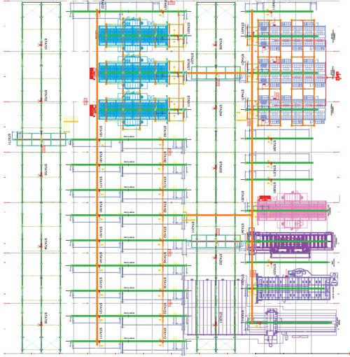 Shuttle Layout for IntelliFinishing