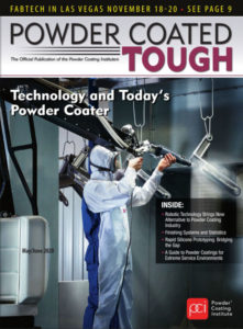 Powder Coated Tough Magazine Cover