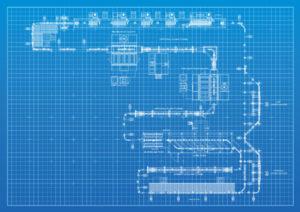 Finishing System Layout Blueprint